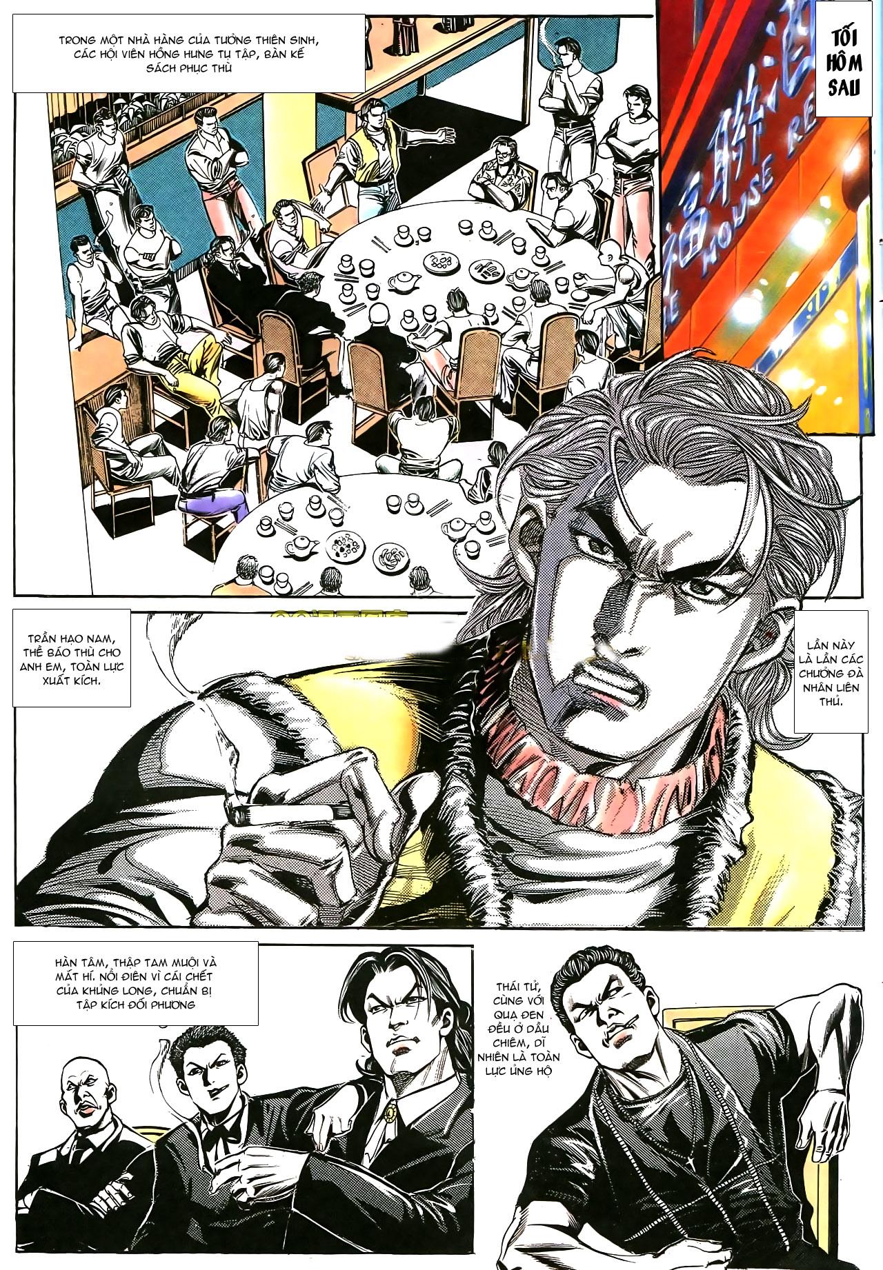 Người Trong Giang Hồ chapter 178: bối cảnh quạ đen trang 11