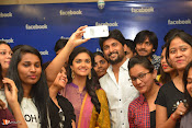 Nani and Keerhi Suresh at Facebook Office-thumbnail-7