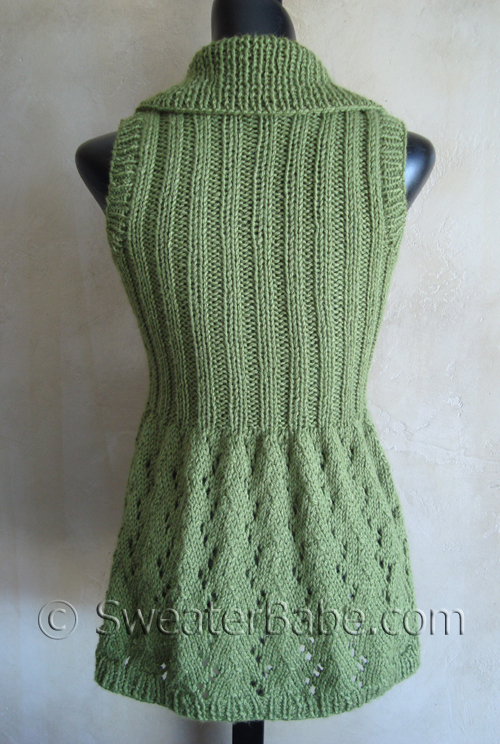 Free Knitting Pattern Women Vest Patterns 2012