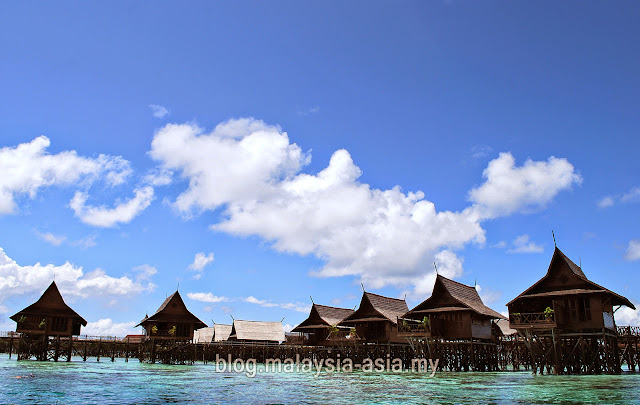 Resort on Kapalai Island