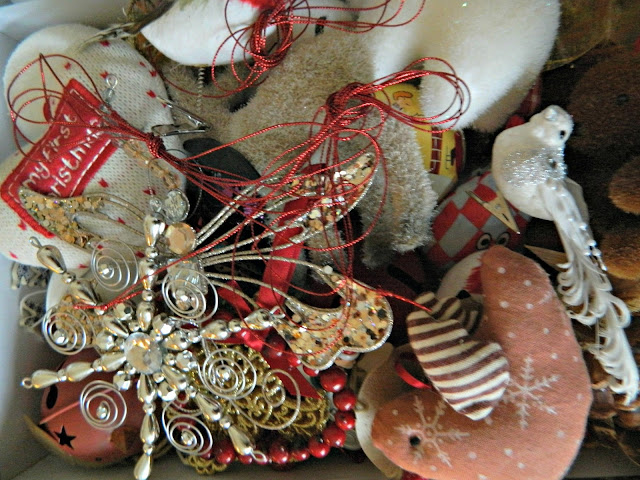 Christmas Decorations Stored Box