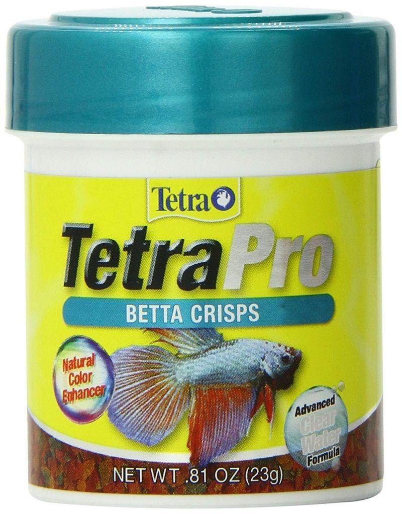 Image Betta Fish Food Pellets-Tetra PRO Betta Crisps