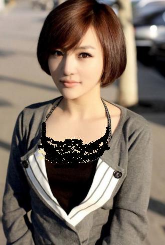 Model rambut bob pendek wanita korea