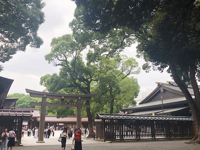 sanctuaire Meiji-jingu Harajuku