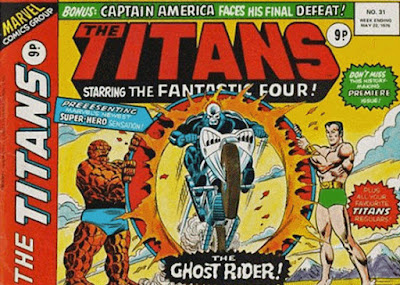 Marvel UK, The Titans #31, Ghost-Rider