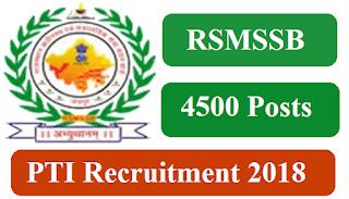 rsmssb recruitment