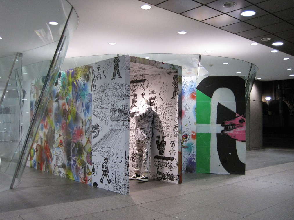 cdg青山店 special installation vogue fno 2016 コムデギャルソン店舗