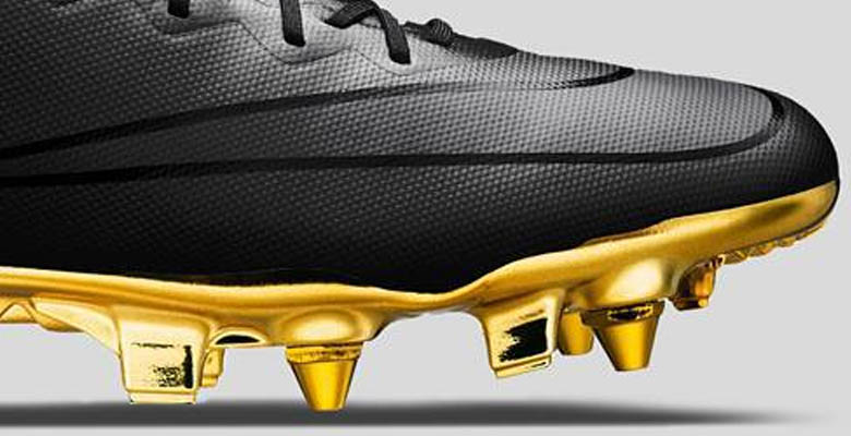 ... black metallic gold 35242 137bd  new style graphic designer nick  texeira has created an awesome nike mercurial concept soccer cleat the 8cf25056c13b4
