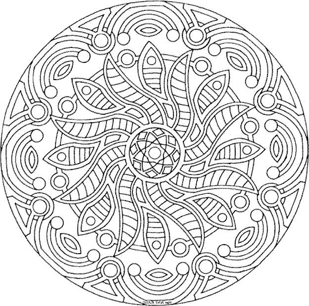 Detailed Coloring Pages For Adults  Printable Kids Colouring Pages
