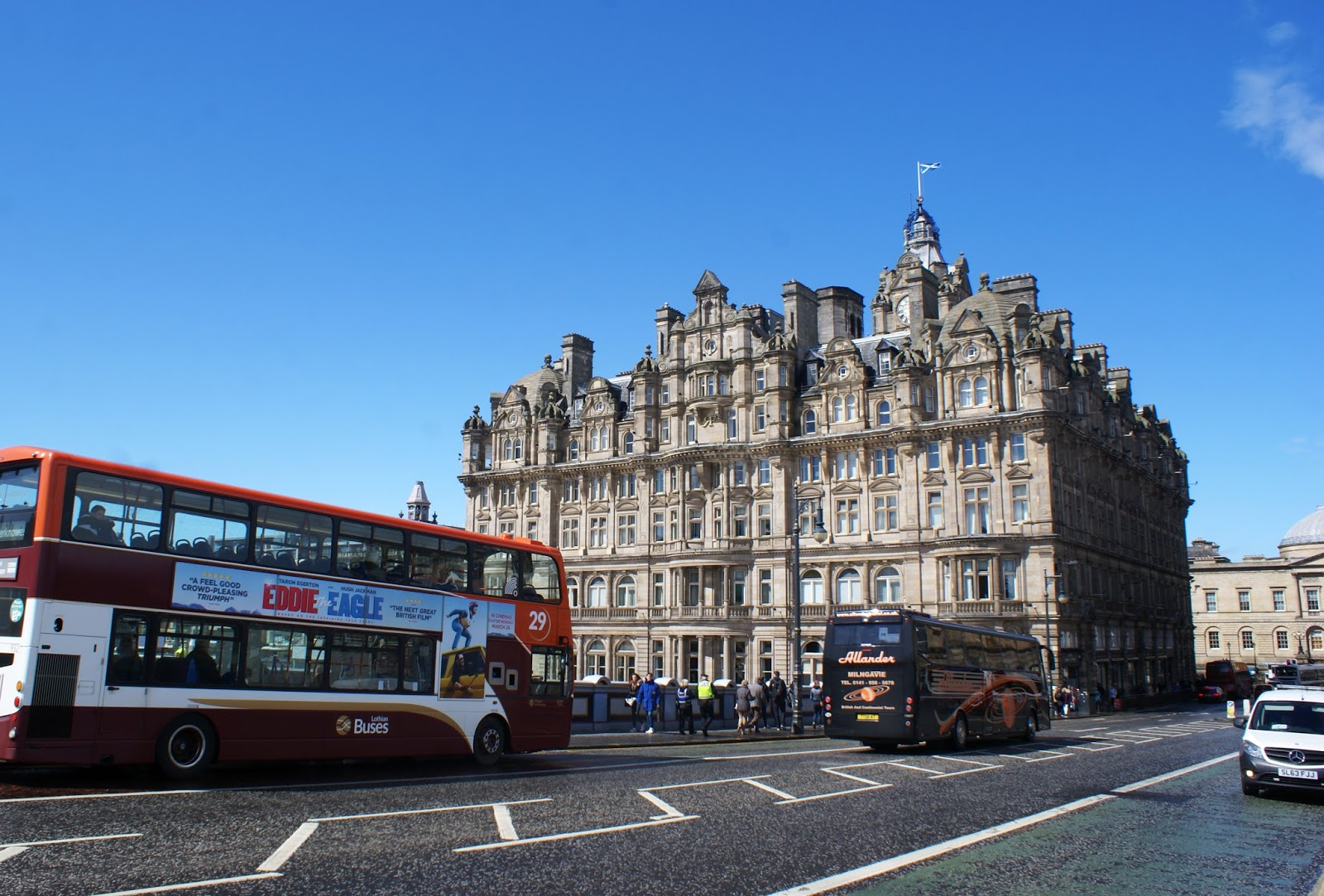 edinburgh city balmoral hotel scotland uk
