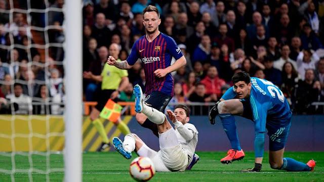 FC Barcelona Ivan Rakitic vs  Real Madrid