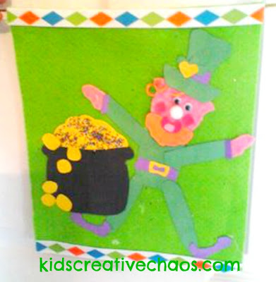 St.Patrick's Day Leprechaun Craft Banner Fun ideas for parade
