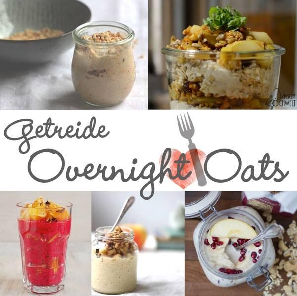 Mädchenküche - Rezepte für Overnight Oats, Foodblogs