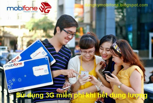 Sử dụng 3G miễn phí khi hết dung lượng tốc độ cao