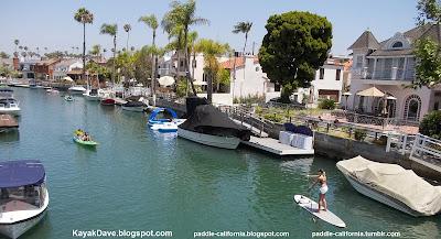 Naples Island Cs Sup Long Beach Ca Paddling Stand Up Paddle Board And Kayak C Rivo Alto Grand