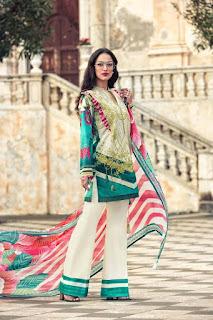 Faraz manan lawn emb.suits 2017