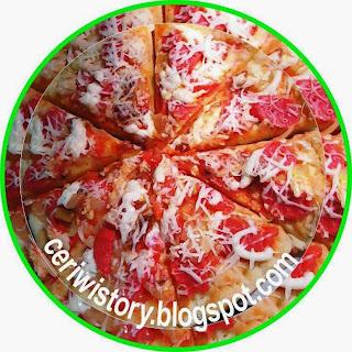Cara mudah membuat Pizza