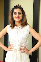 Taapsee Pannu in cream Sleeveless Kurti and Leggings at interview about Anando hma ~  Exclusive Celebrities Galleries 050.JPG