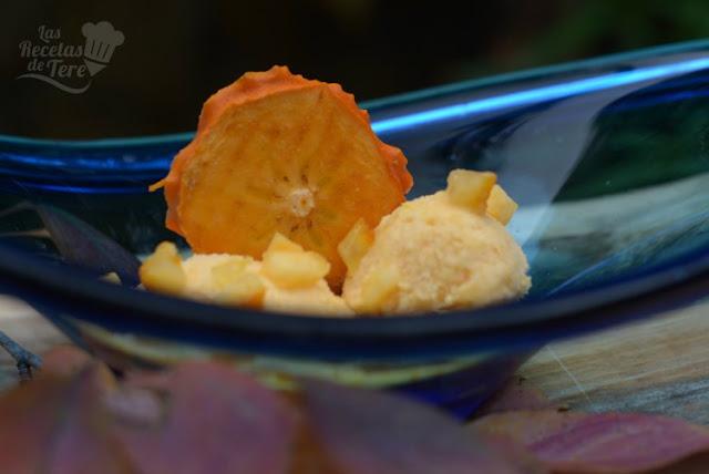 Delicioso helado de Kaki Persimón® 03
