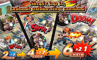 Free Download One Piece Treasure Cruise v5.0.0 MOD APK Terbaru Android 2016