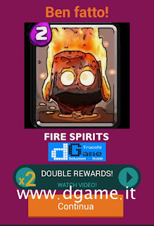 Soluzioni Quiz Clash Royale card livello 34