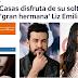 > Ella tiene novio, pero... Liz Emiliano, 'cazada' con el actor Mario Casas