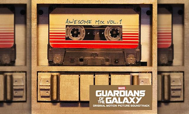 Trilha-sonora do filme Guardiões Da Galáxia em K7