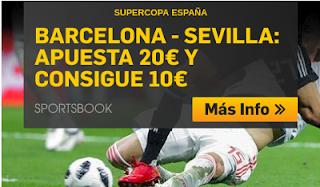 betfair promocion supercopa españa Barcelona vs Sevilla 12 agosto