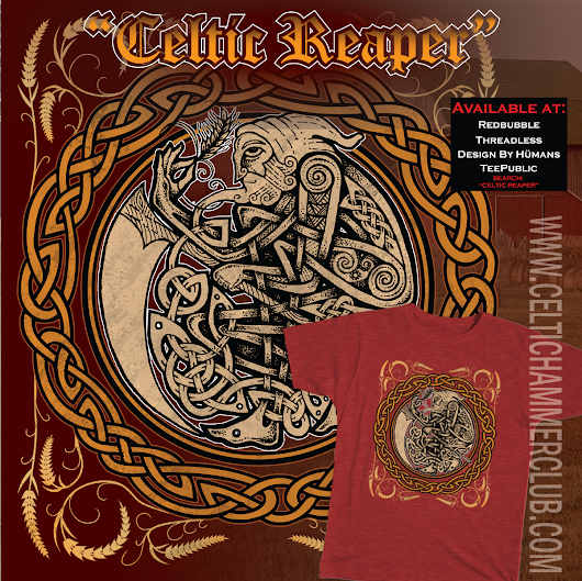 Celtic Harvest Reaper