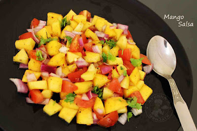 dipping mango salsa mango recipe dipping side dish salads sauces