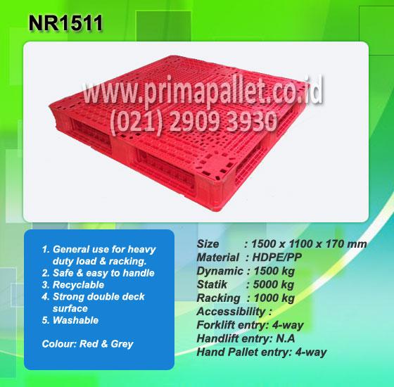 Jual Pallet Plastik Heavy Duty NR1511