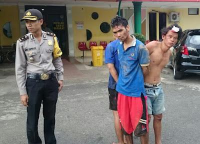 3 Pelaku Ilegal Taping Di Amankan Polres Prabumulih
