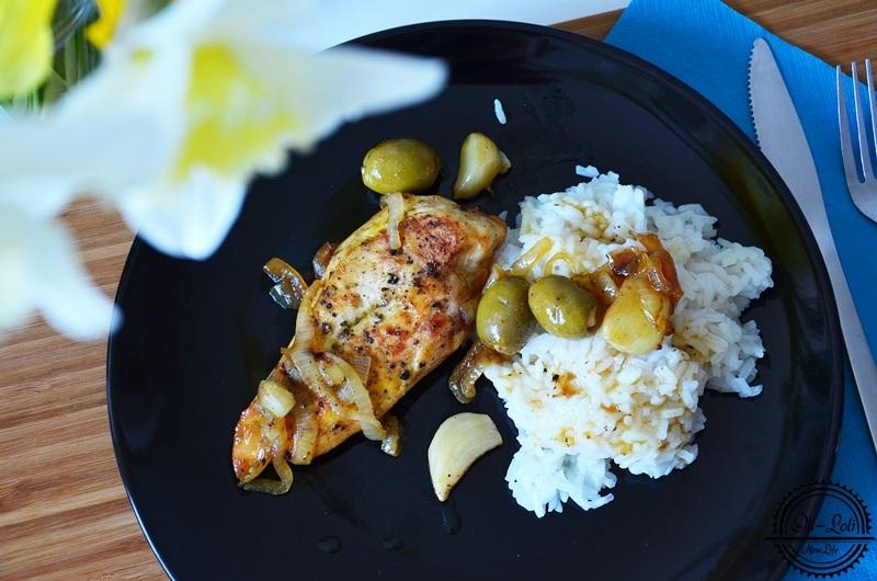 Kurczak zapiekany z czosnkiem