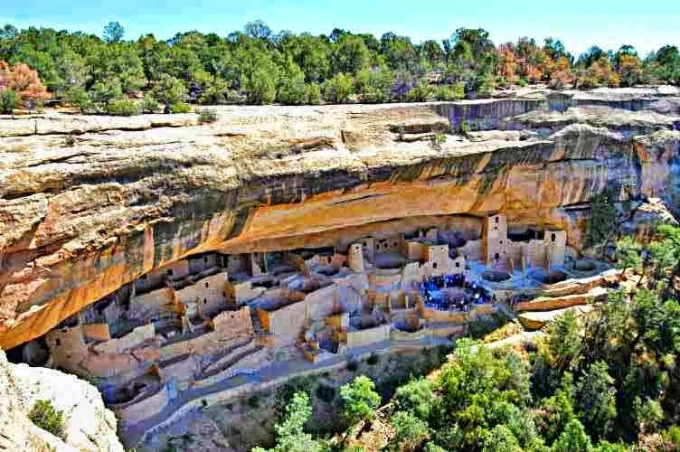 ancient pueblo,amerika, wisata kota hilang