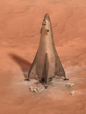 Base Camp Mars Akan Dilengkapi Dengan Kapal Pendarat