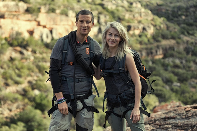 Julianne Hough  running wild with bear grylls
