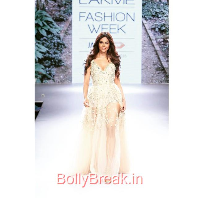 omgg 😻😰😵 @egupta esha gupta , 💕 lakme fashion week , 😍 love , 💓 summer resort 2015 , 👌 beauty , 😘 angel , 💋 killer , 🙈 most beautiful , 🙊 fashion , 😙 dress , ♡ beautiful , 😻 bollywood , 💓 lovet his dress , 😍👌 model , 😙 gorge us , 🎀, Esha Gupta in Arpita Mehta Dress - Lakme Fashion Week 2015