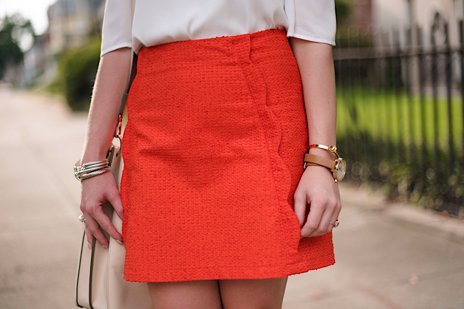 Scallop Skirt - Click through to see more on Something Delightful Blog!