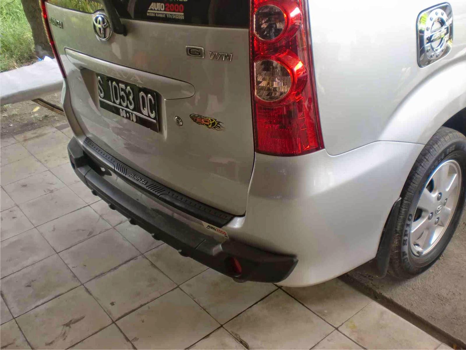 Bemper Depan Grand New Avanza Veloz Agya 1.2 G At Trd Belakang Xenia Lama Variasi Mobil