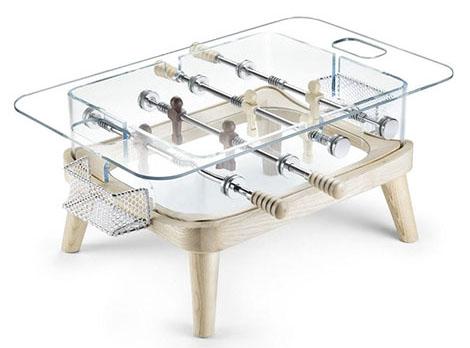 Foosball Coffee Table 'Intervallo' by Teckell ~ designcombo