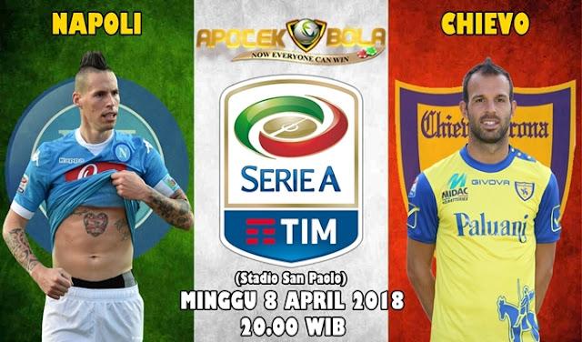 Prediksi Napoli vs Chievo 8 April 2018