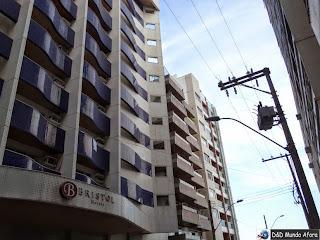 Hotel Bristol Guarapari - onde ficar em Guarapari