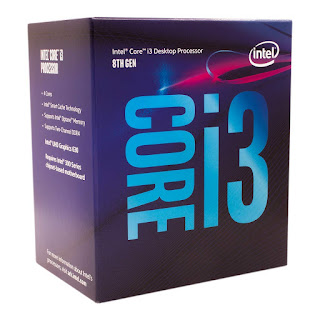 Intel i3 8th Gen Processor (Coffee Lake)