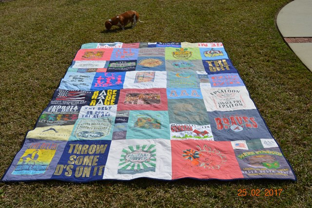 Just Give Me A Needle Too Cool T Shirt Quilt