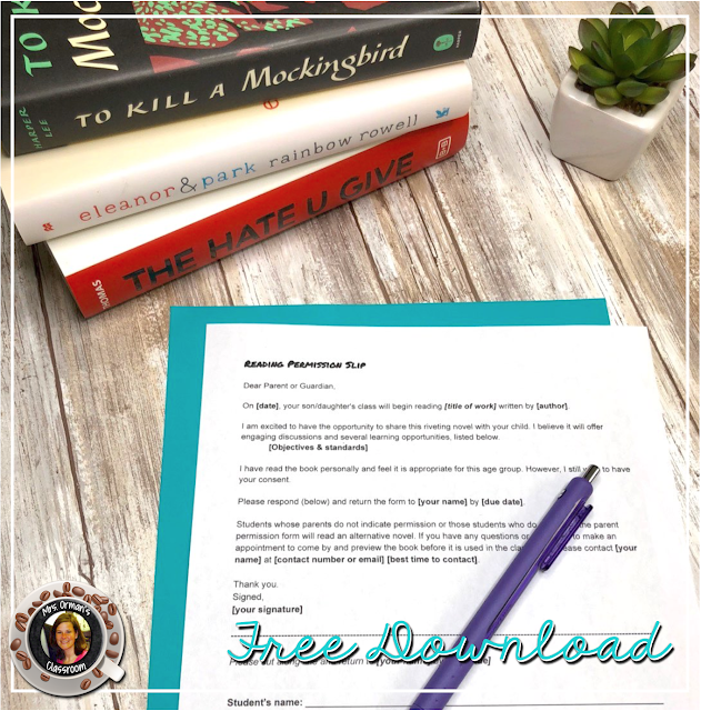Free Download Editable Permission Slip