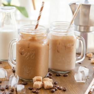 how to make an iced cappuccino with a blender