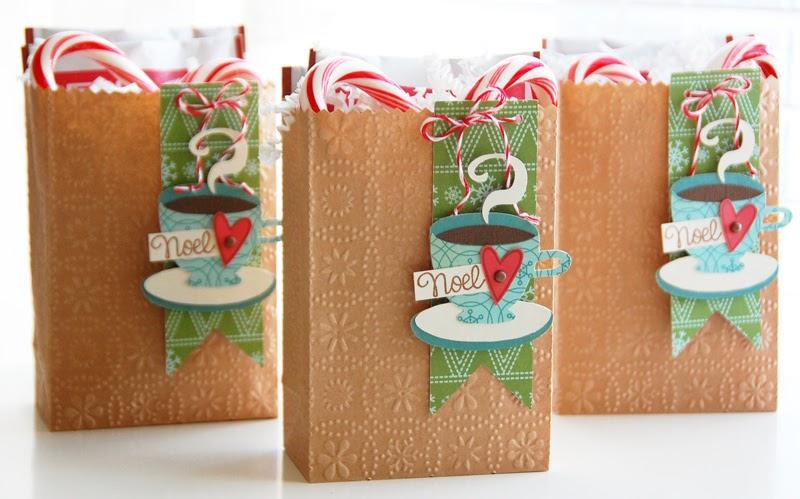 Reindeer Chocolate Treat Bags Tutorial - YouTube |Hot Chocolate Treat Bags