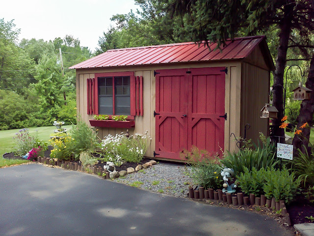 What colour should I paint my shed?