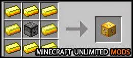 Lucky Blocks Mod crafting