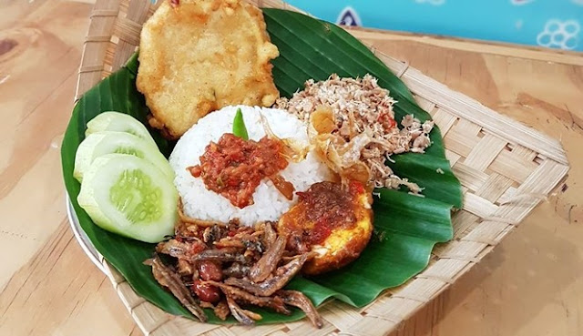 Nasi Megono, a typical food of Pekalongan